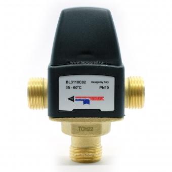 Термостатический смесительный клапан TIM 1/2 35-60°С KVs 1.6 BL3110C02 купить в Санкт-Петербурге по лучшей цене