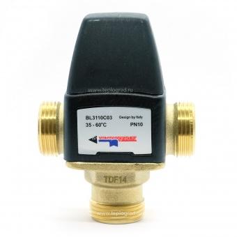 Термостатический смесительный клапан TIM 3/4 35-60°С KVs 1.6 BL3110C03 купить в Санкт-Петербурге по лучшей цене