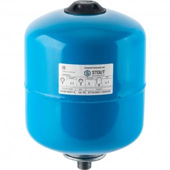 Расширительный бак Stout 8 литров для системы водоснабжения STW-0001-000008 купить в Санкт-Петербурге по лучшей цене - TeploGrad